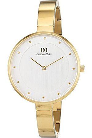 Danish Design Reloj Cuarzo para Mujer con Plata Analogico Y Oro Titanio 3326609
