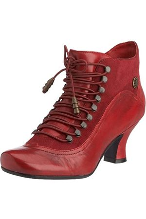 Hush Puppies Vivianna - Botines de caña alta con tacón para mujer, (Red/Multi)