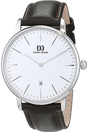 Danish Design Reloj Analogico para Hombre de Cuarzo con Correa en Cuero IQ12Q1175