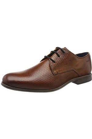 Bugatti Hombre Con cordones - 311902012100, Zapatos de Cordones Derby para Hombre, (Cognac 6300)