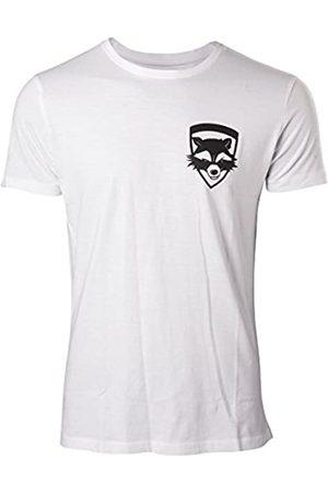 Meroncourt Marvel Comics Guardians of The Galaxy Vol. 2 Men's Rocket T-Shirt, Extra Camiseta