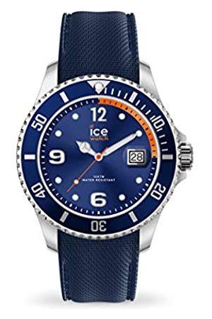 Ice-Watch ICE steel Navy orange - Reloj para Hombre con Correa de silicona