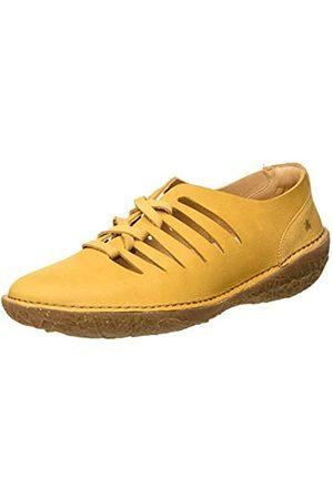 El Naturalista N5723 Pleasant BORAGO, Zapatos de Cordones Brogue para Mujer, (Curry Curry)