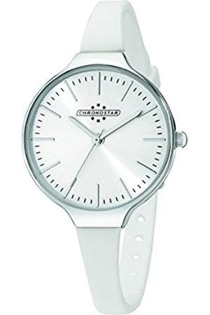 Chronostar Watches Chrono Star Watches de Mujer Reloj de Pulsera Toffee analógico de Cuarzo Silicona r3751248505