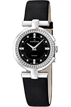 Candino Reloj Mujer de Cuarzo con Esfera analógica Pantalla y Correa de Cuero C4560/2