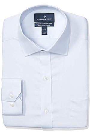 Buttoned Down Tailored-Fit Stretch Twill Non-Iron Dress Shirt Shirts