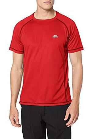 Trespass Albert - Camiseta de Manga Corta para Hombre, Hombre, MATOTSO10026_Reds