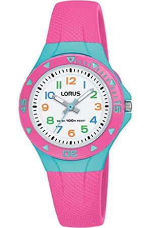 Lorus RelojAnalogicoparaNiñasdeCuarzoconCorreaenSiliconaR2351MX9