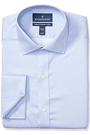 Buttoned Down Tailored-Fit French Cuff Micro Twill Non-Iron Dress Shirt Shirts