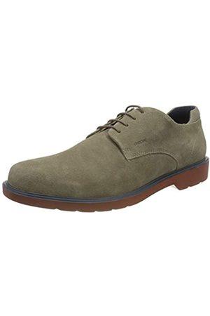 Geox U Raffaele B, Zapatos de Cordones Derby para Hombre, (Taupe C6029)