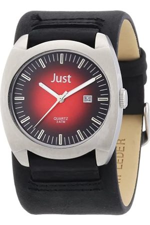 Just Watches 48-S1992-RD-BK - Reloj analógico de Cuarzo para Hombre
