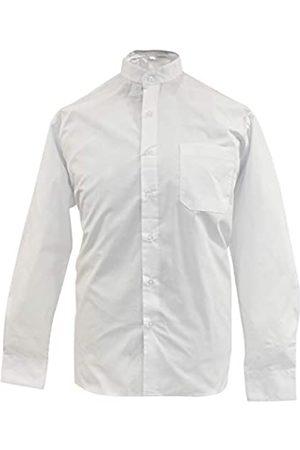 MISEMIYA Camisa Uniforme Camarero Caballero Cuello Mao Mangas LARGAS MESERO DEPENDIENTE Barman COCTELERO PROMOTRORES - Ref.827-1