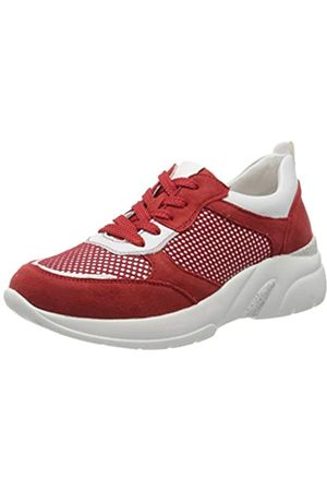 Remonte D4100, Zapatillas para Mujer, (Flamme/Bianco/Flamme 33)