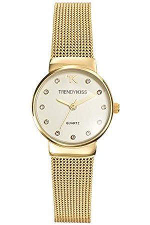 Trendy Kiss Kiss-Trendy TMG 10065-07A - Reloj analógico de Mujer (Cuarzo, Correa de Metal, Esfera de Color )