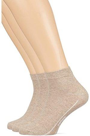 Camano CA-SOFT Quarter 3-er Calcetines cortos 43-46 (Pack de 3) para Hombre