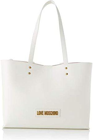 Love Moschino Jc4262pp0aMujerBolsos totesBlanco (White Pu)13x27x35 Centimeters (W x H x L)