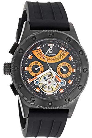 Burgmeister BM172-622C - Reloj analógico automático para Hombre con Correa de Silicona