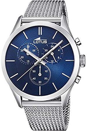 Lotus RelojparadeCuarzoanalógicoconCorreaenAceroInoxidable18117/4