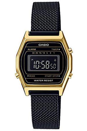 Casio Reloj Digital para Mujer de Cuarzo con Correa en Acero Inoxidable LA690WEMB-1BEF