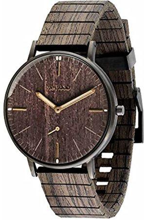 WeWood RelojAnalógicoparaHombredeCuarzoconCorreaenMaderaWW63002