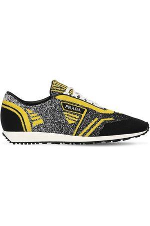 Prada | Hombre Sneakers De Punto /amarillo 5