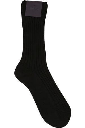 Prada | Hombre Calcetines De Algodón Con Parche S