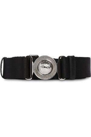 Prada | Hombre Cinturón De Piel Y Tarlatán 35mm 80