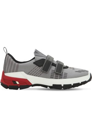 "Prada | Hombre Sneakers Slip-on ""cross Section"" De Nylon 6"