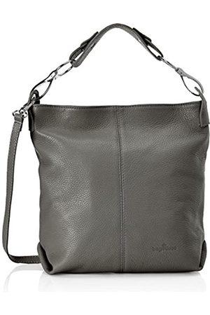 Bags4Less Yenna, Shoppers y bolsos de hombro Mujer, Grau (Dunkelgrau)