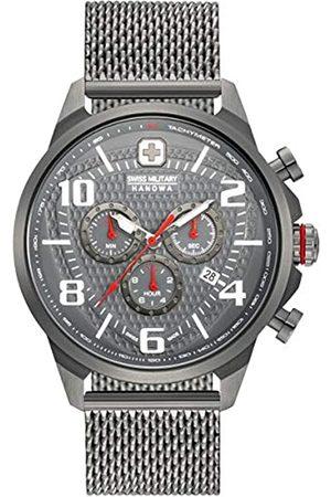 Swiss Military Reloj Analógico para Hombre de Cuarzo con Correa en Acero Inoxidable 06-3328.30.009