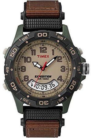 Timex T45181 - Reloj de pulsera para hombres, correa de nylon