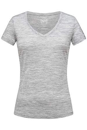 Supernatural Base V-Neck T-Shirt 140 Camiseta, Mujer