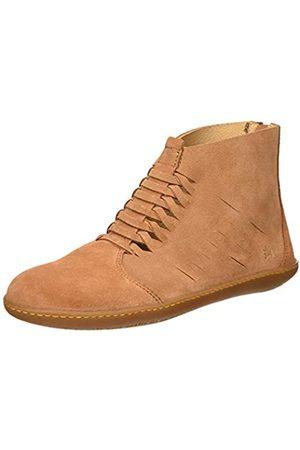 El Naturalista N5285 Lux Suede Viajero, Zapatos de Cordones Brogue para Mujer, (Henna Henna)