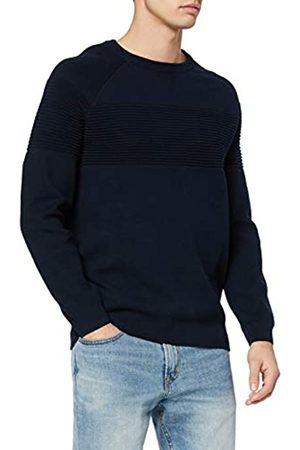FIND Hombre Jerséis y suéteres - Marca Amazon - Jersey de Algodón Hombre, S