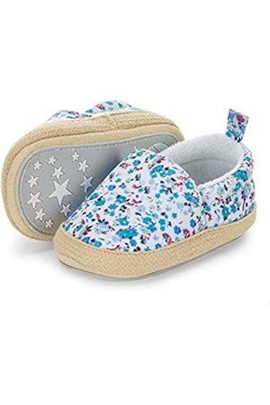 Sterntaler Baby-Espadrilles, Alpargata para Bebés, (Samtblau 399)