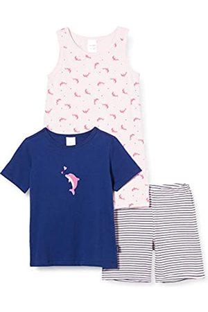 Schiesser Girls World MD Nachtwäsche Set Pijama