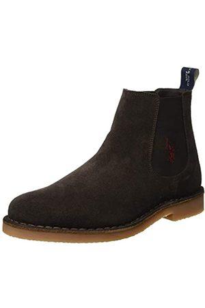 U.S. Polo Assn. FAUST6, Zapatillas Altas para Hombre, (Dark Brown Dkbr)