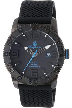 Burgmeister BM522-622D - Reloj analógico de Cuarzo para Hombre con Correa de Silicona
