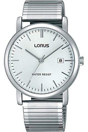 Lorus Relojes Hombre-Reloj analógico de Cuarzo diseño clásico con Revestimiento de Acero RG855CX9