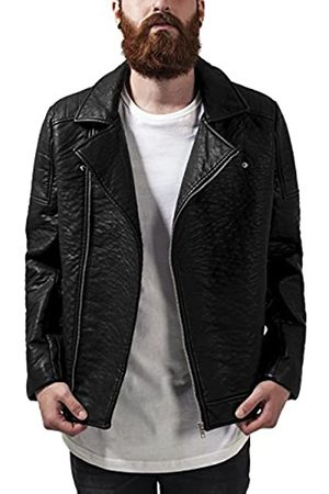 Urban classics Leather Imitation Biker Jacket Chaqueta