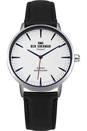 Ben Sherman Reloj Análogo clásico para Hombre de Cuarzo con Correa en Cuero WB020B