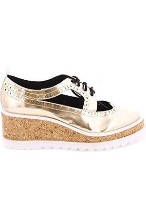 Sixtyseven 77924 - Zapatos de Vestir para Mujer, Color Oro/