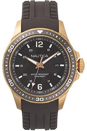 Nautica RelojAnalogicoparaHombredeCuarzoconCorreaenSiliconaNAPFRB004