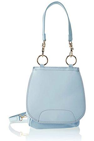 Chicca borse Mujer Bolso de hombro Turquesa Size: 25x27x10 cm (W x H x L)
