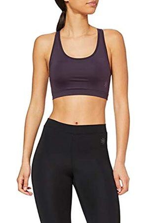 AURIQUE Marca Amazon - Sujetador Deportivo Bajo Impacto Tirantes Yoga Mujer, XS