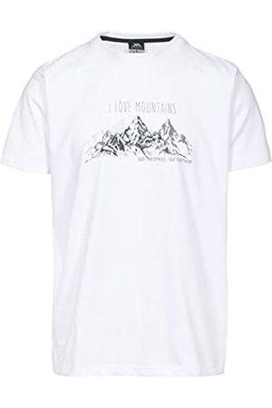 Trespass Hombres del Espacio Camiseta con impresi/ón en el Pecho