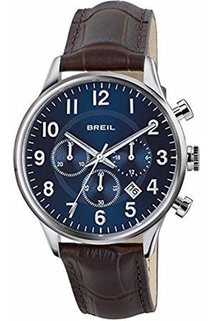 Breil RelojCronógrafoparaHombredeCuarzoconCorreaenCueroTW1576