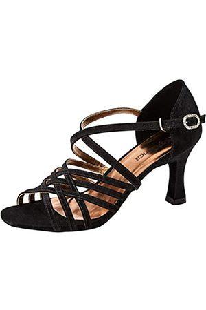 So Danca Bl178, Zapatos de Baile de Sociedad y Latina para Mujer, (Black Black)