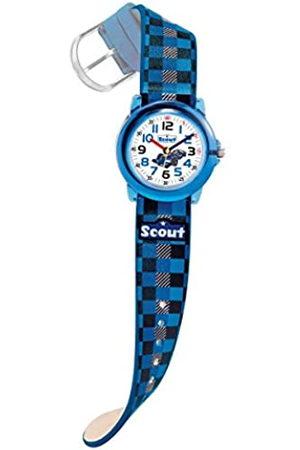 Scout Reloj de Pulsera analógico de Cuarzo, Piel sintética
