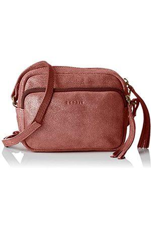 Esprit 087ea1o061, Shoppers y bolsos de hombro Mujer, Rot (Dark Red), 3,5x11,5x15